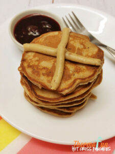 Thermomix Hot Cross Pancake - ThermoFun