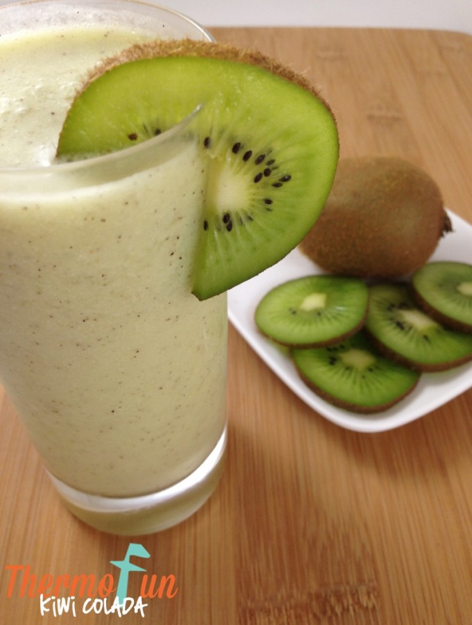 Kiwi Colada Recipe – ThermoFun Thirsty Thursday