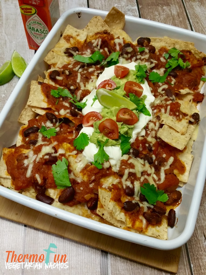 Vegetarian Nachos – Week 11, 2016