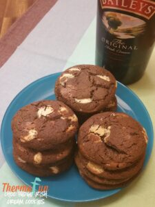 Thermomix Double Choc Baileys Cookies