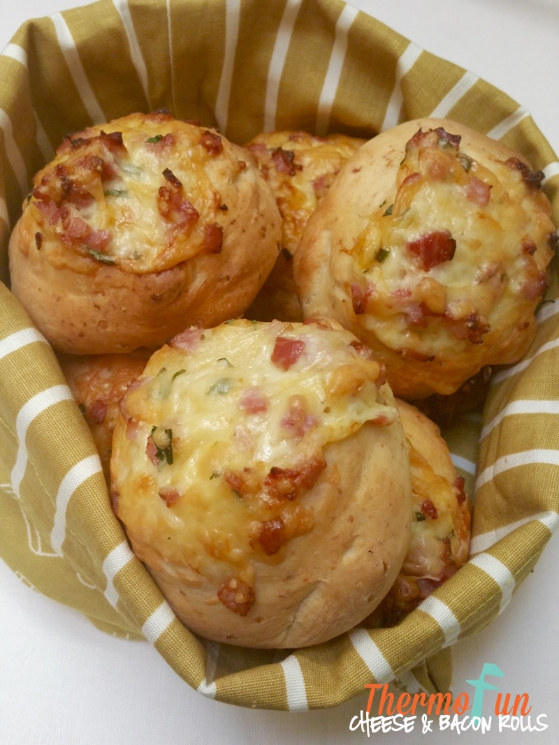 Thermomix Cheese And Bacon Rolls