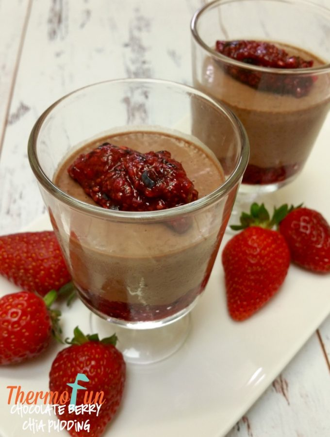 Chocolate Berry Chia Pudding – Week 21, 2016
