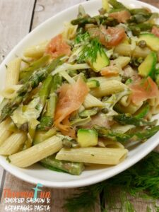 Smoked Salmon & Asparagus Pasta – Mad Monday – ThermoFun
