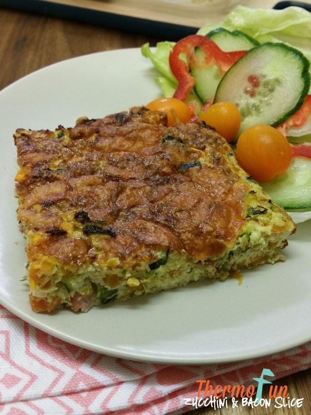 Zucchini And Bacon Slice – Mad Monday – ThermoFun