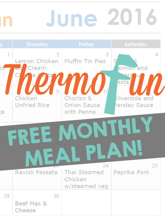 June FREE Meal Plan