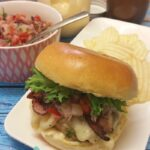 Thermomix Hawaiian Chicken Burger