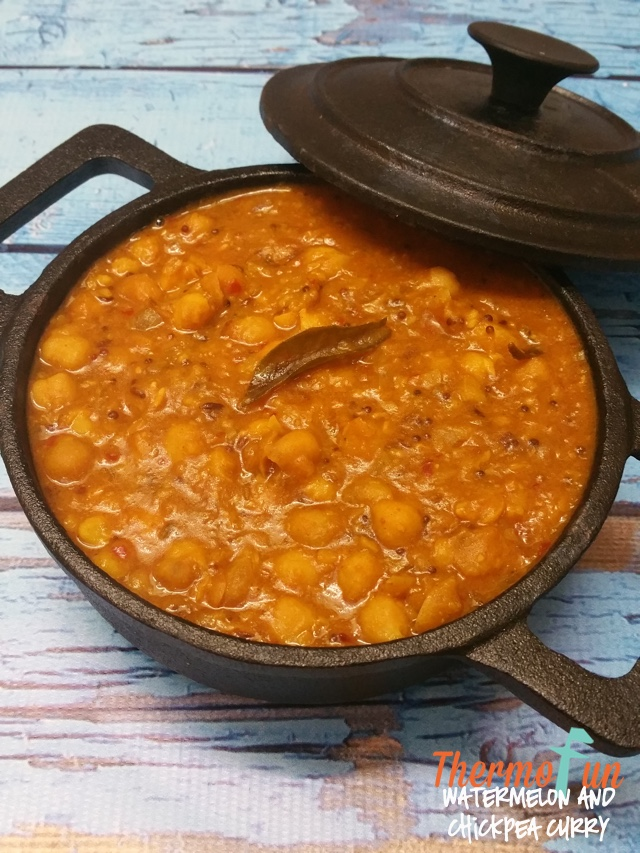 Thermomix Watermelon Chickpea Curry