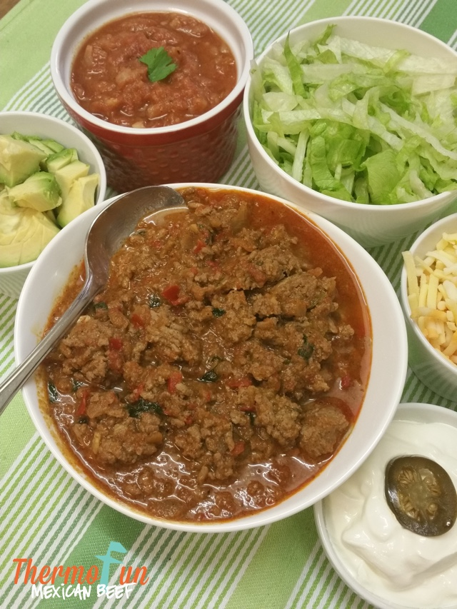 Mexican Beef with Salsa – Week 33, 2016