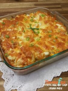 Thermomix Potato Egg And Sour Cream Bake