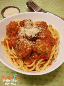 Thermomix Spaghetti & Meatballs