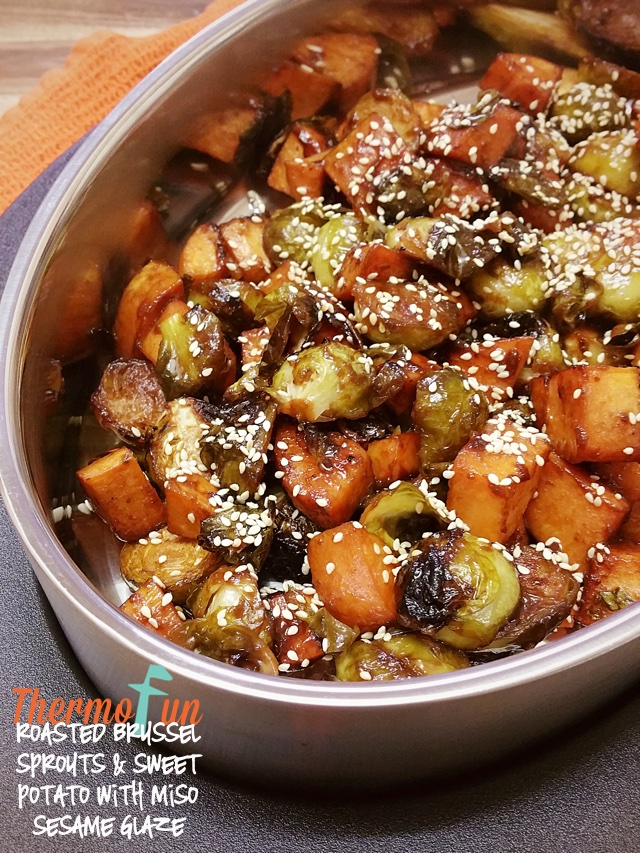 roasted-brussels-sprouts-sweet-potato-miso-sesame-glaze