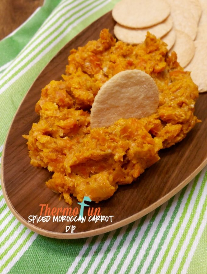 Thermomix Spiced Moroccan Carrot Dip