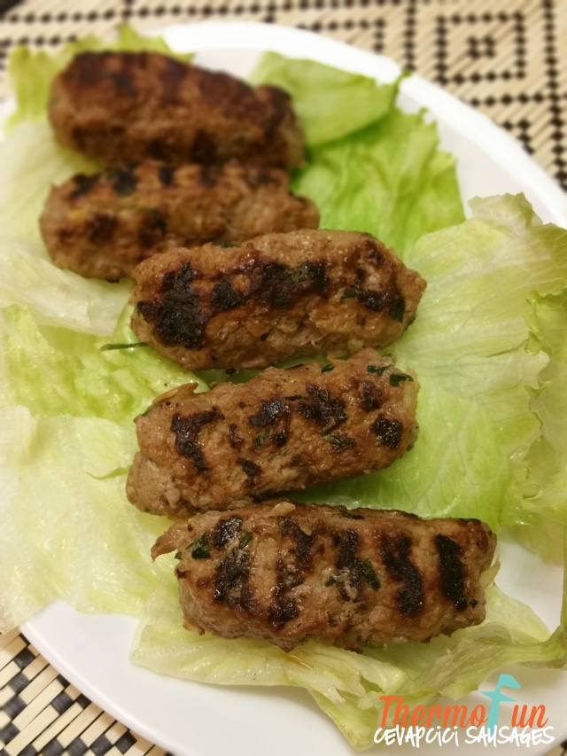 Cevapcici Sausages Low Carb – Week 50, 2016