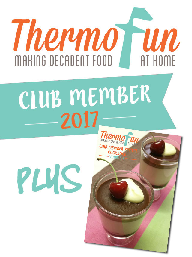 2017 Membership + 2016 ThermoFunkies Member E-Cookbook