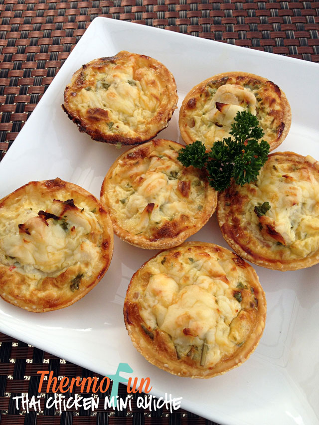 Thai Chicken Mini Quiche – Week 16, 2014