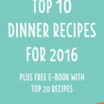 Top 10 Thermomix Dinner Recipes 2016