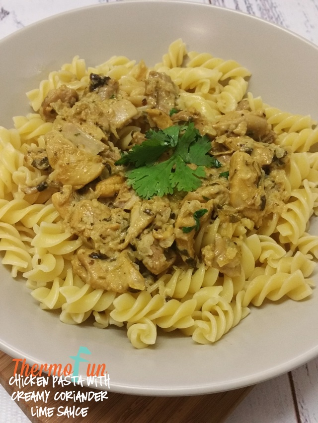Chicken with Creamy Coriander Lime Sauce – Mad Monday