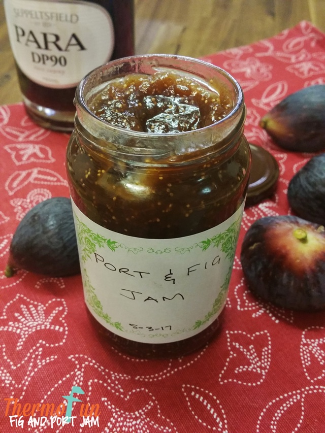 Port and Fig Jam – Week 11, 2017