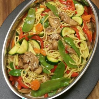 Teriyaki Chicken Noodles – Week 13, 2017