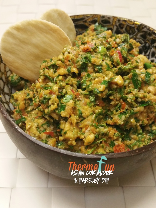 Asian Coriander & Parsley Dip - ThermoFun
