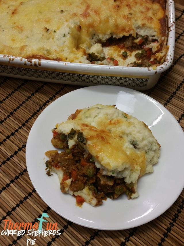 Curried Shepherd's Pie – Week 16, 2017