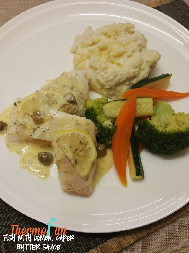 Fish with Lemon, Caper Butter Sauce – Member Bonus Recipe, 2017