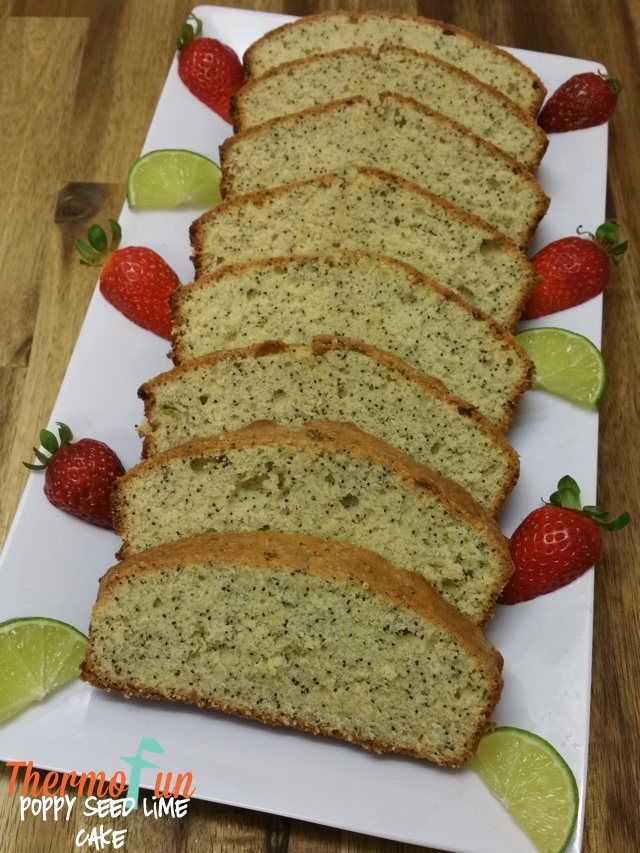 Poppy Seed Lime Cake – Week 14, 2017