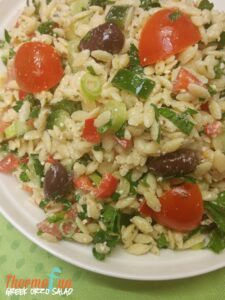 Greek Orzo Salad – Mad Monday