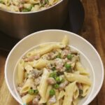 thermomix-Ham-And-Mushroom-Penne-Carbonara