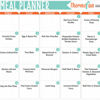 ThermoFun FREE June 2017 Meal Plan