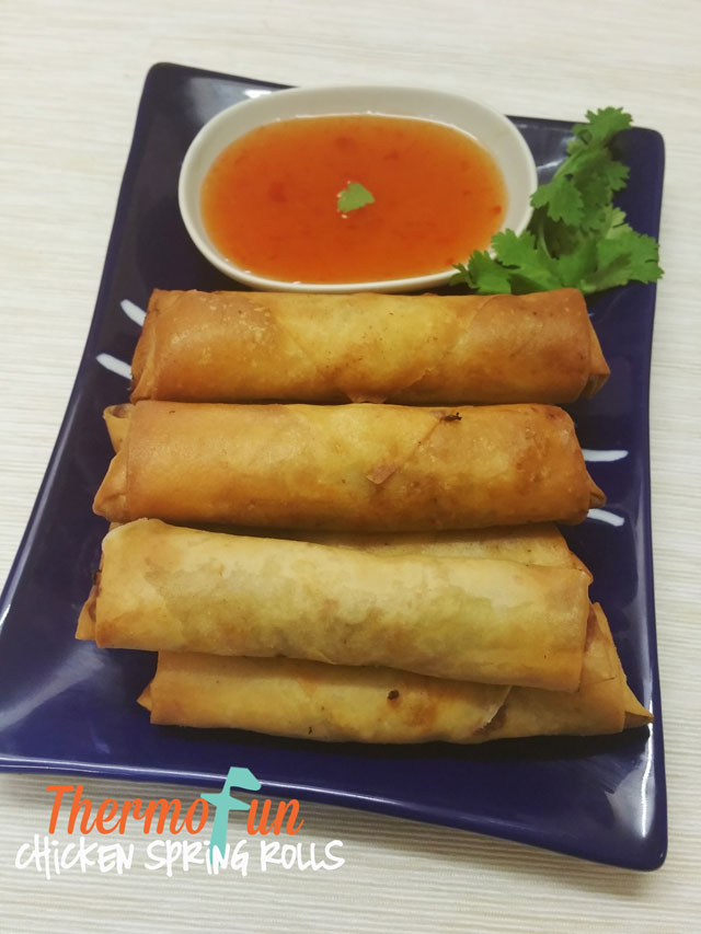 Chicken Spring Rolls – Week 22, 2017