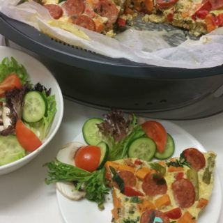 Veggie and Chorizo Frittata