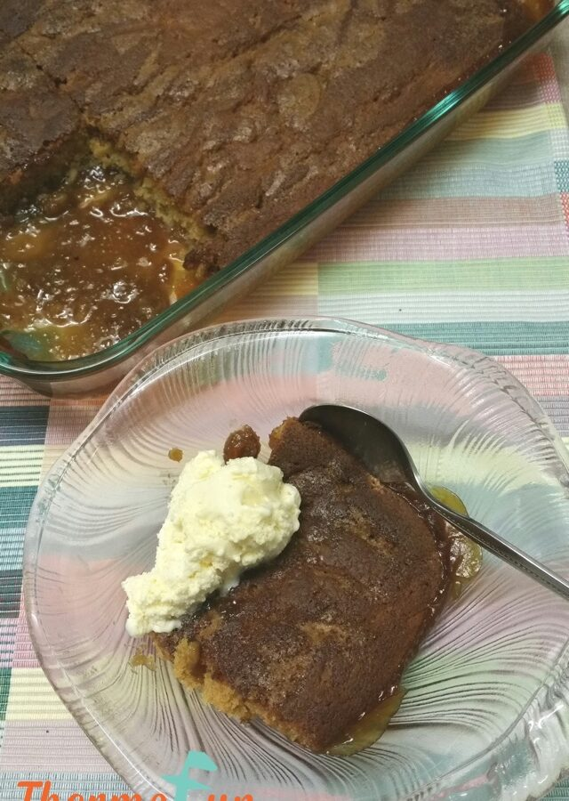 Butterscotch Self Saucing Pudding – Week 36, 2017