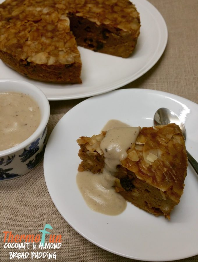 Coconut & Almond Bread Pudding – Week 40, 2017