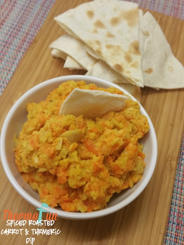Spiced Roasted Carrot & Turmeric Dip – Week 38, 2017