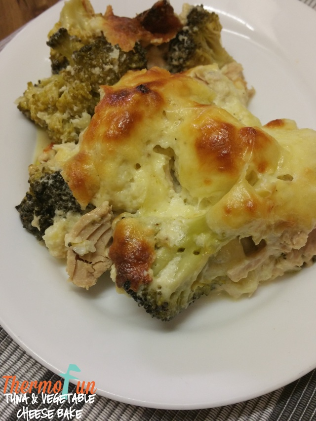 Tuna Vegetable Cheese Bake – Week 42, 2017