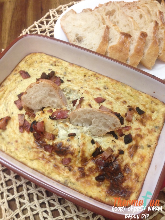 Gooey Cheesy Warm Bacon Dip – Week 45, 2017