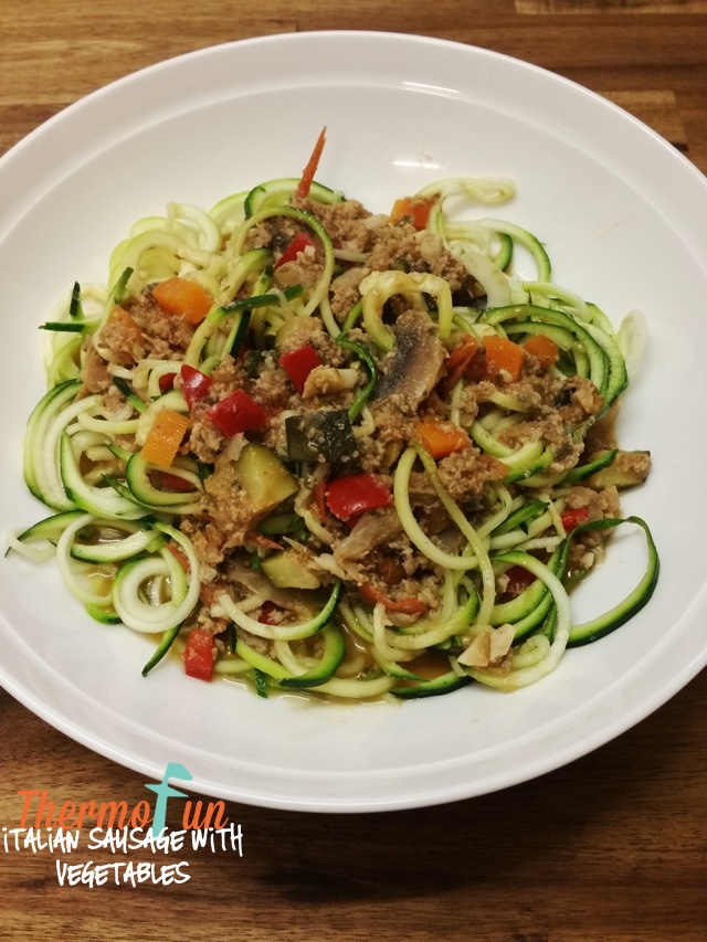 Thermomix-Italian-Sausage-Zoodles-with-Vegetables