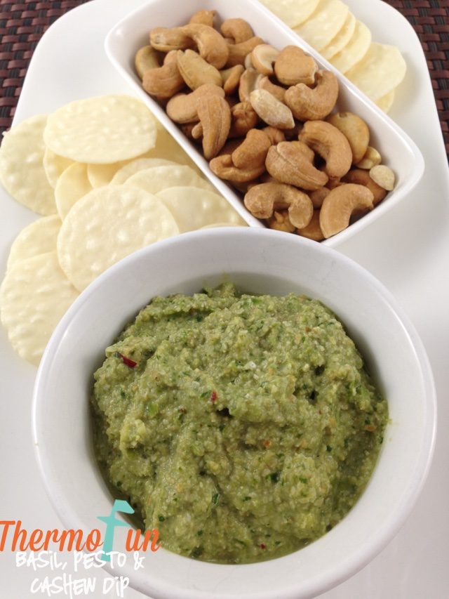Basil, Pesto and Cashew Dip – Week 6, 2014