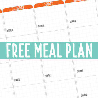 THERMOFUN FREE MEAL PLAN – MAY 2018