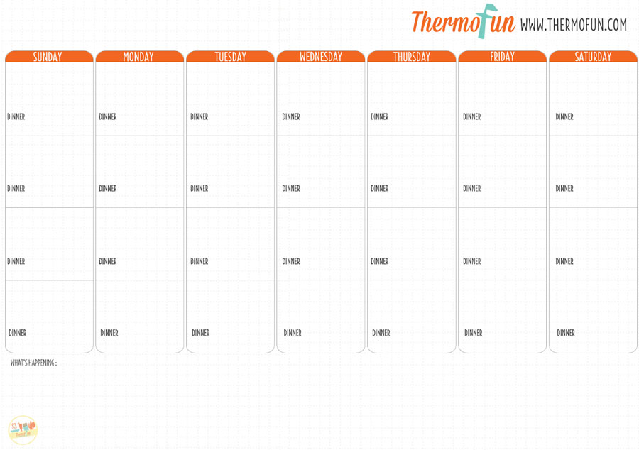 Thermofun Free Meal Plan  January   Thermofun  Thermomix