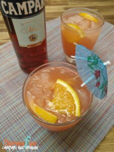 Campari & Orange Cocktail – ThermoFunkies February 2018