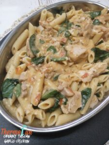Creamy Tuscan Garlic Chicken – ThermoFunkies February 2018