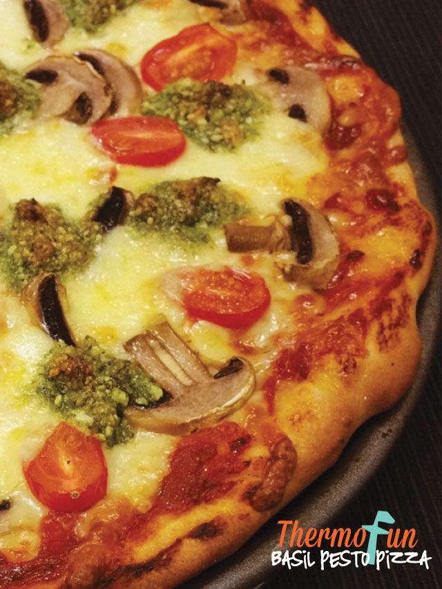 Basil Pesto Pizza – Meals In A Jiffy